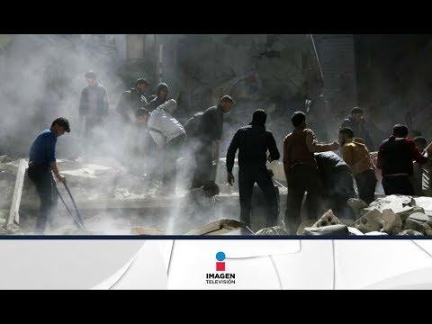 Así es la muerte por armas químicas en Siria | Imagen Noticias con Ciro Gómez Leyva