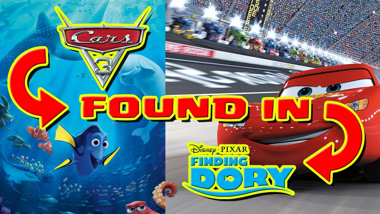 Cars  Movie Easter Eggs