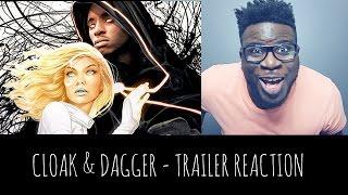 CLOAK AND DAGGER - TRAILER REACTION (MARVEL/FREEFORM TV SHOW)