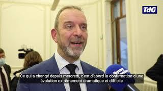 Thierry Apothéloz, conseiller d'État, fait le point sur le Covid-19