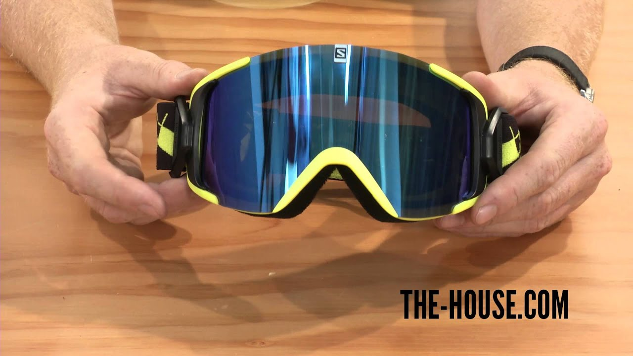 salomon ski goggles review