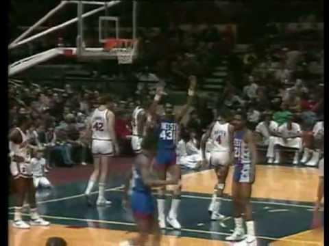Micheal Ray Richardson (36pts/5asts/6stls) vs. Knicks (1984)