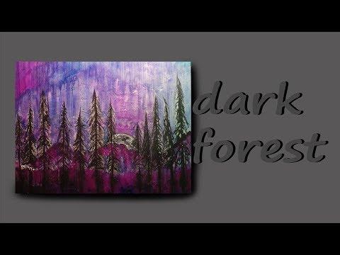 Dark forest | Speed Painting