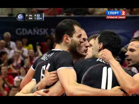 Bulgaria - Italy 8.07.2011, World League, Poland