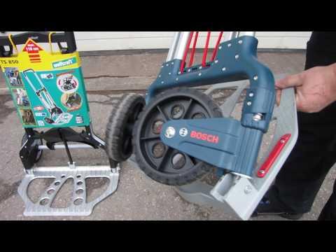 Gut bekannt ТЕЛЕЖКИ WOLFCRAFT TS 850 & Bosch Alu-Caddy 1600A001SA - YouTube FM53