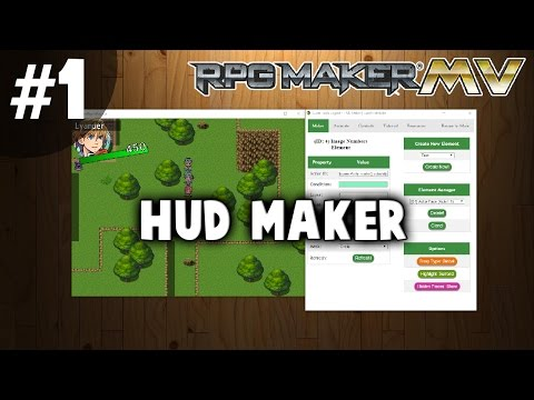 HUD Maker Tutorial #1 - Basic Mechanics And Controls