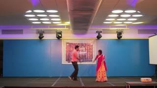 Infosys Celebrity Dance League 2016 - Narayan,Pooja