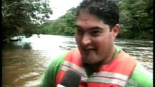 Rafiting Rio Sangue, no  Balneário Pilger em Campo Novo do Parecis - MT