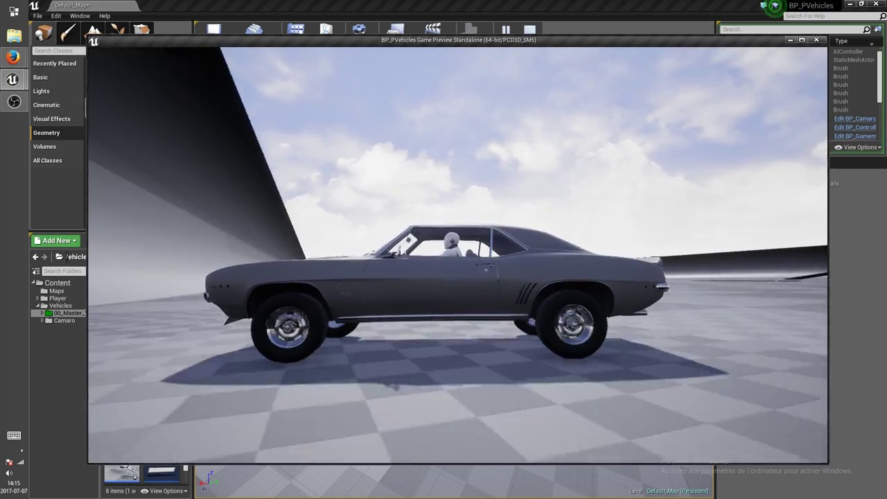 physic vehicle update 2.4! (Unreal Engine 4)(Blueprint) - YouTube