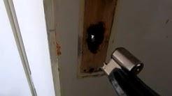 Öffnung Zylinder abbrechen Schlüssel verloren
