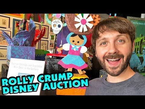 DISNEY COLLECTIBLES from Disney Legend Rolly Crump! Auction at Van Eaton Galleries!