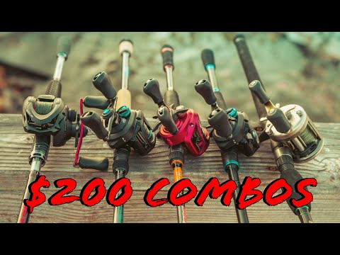 Buyer's Guide: Best Casting Rod And Reel Combos Under $200