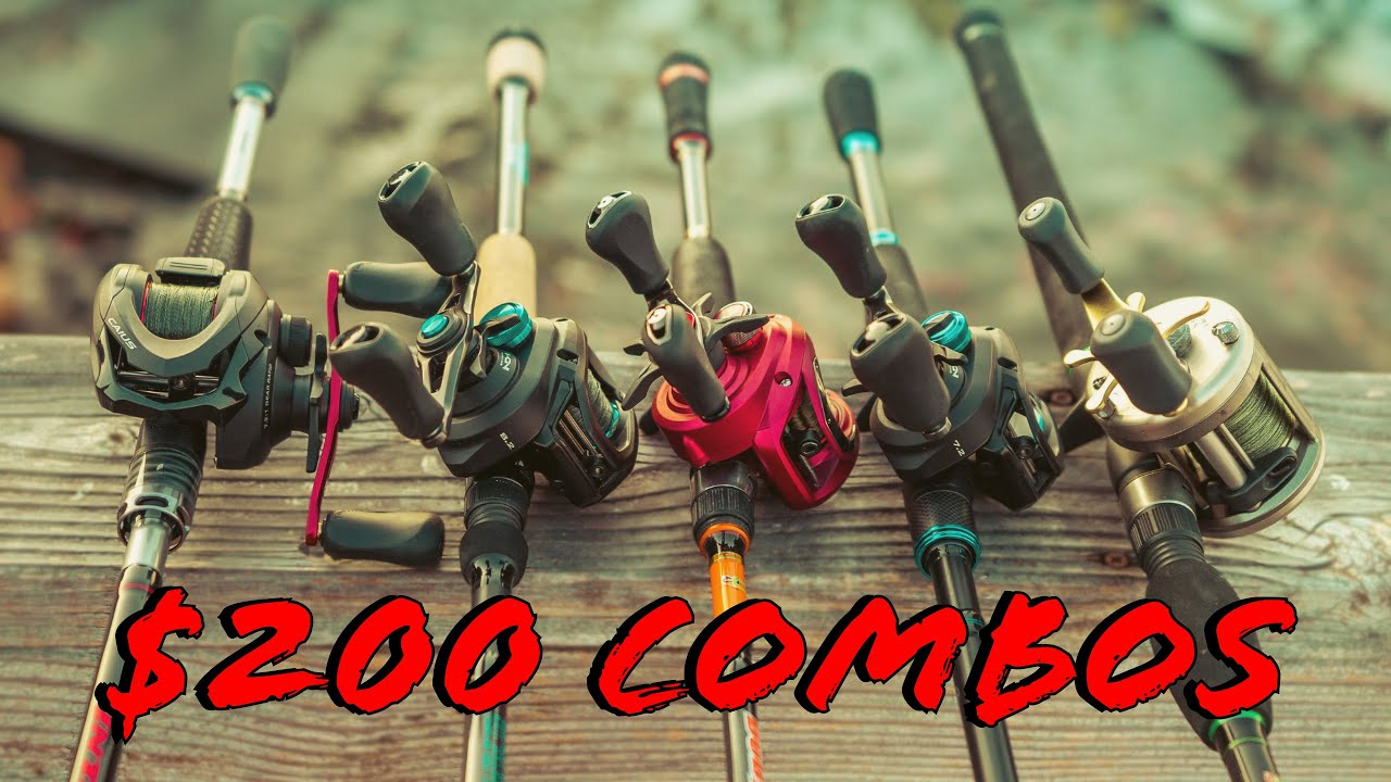 Buyer's Guide: Best Casting Rod and Reel Combos Under $200 - YouTube