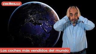 LOS COCHES MÁS VENDIDOS del mundo en 2020 | Informe / Review en español | coches.net