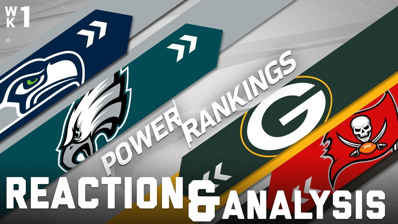 a35b93af 2017 Power Rankings Reaction Show: Seahawks Favorites in the NFC? | NFL  Network