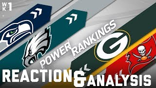 2017 Power Rankings Full Show: Seahawks Favorites in the NFC? | NFL Network