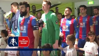 Crystal Palace 2-1 Watford - Tunnel Cam (2015/16 Emirates FA Cup Semi-Final) | Inside Access