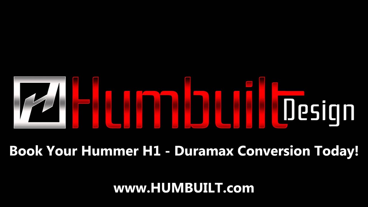 Hummer H1 Lmm 6 6 DuraMax Conversion by HUMBUILT