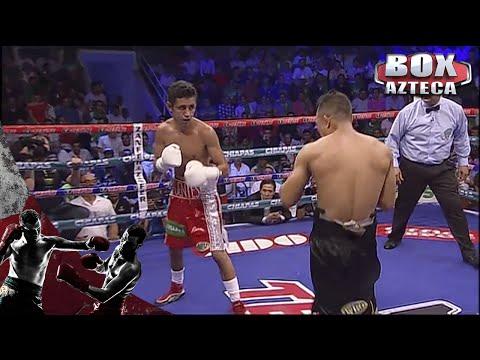 Moisés Fuentes noquea en el primer round a Luis de la Rosa