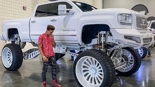 SEMA Truck CRASHES At Truck Show!