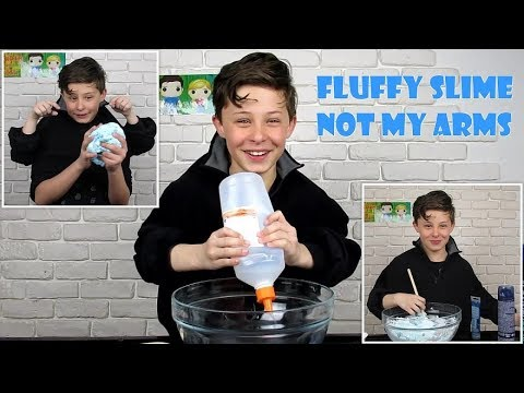 FLUFFY SLIME NOT MY ARMS