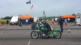 Drag Racing Kawasaki Z1 Vs Honda VFR 750 Turbo