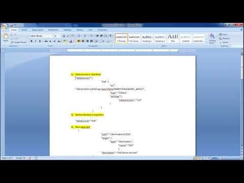 SAPUI5 - Consuming OData - YouTube