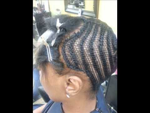 Alternative Braid Pattern And Sew Pattern For The KokoStar Glam Simple Sew In Weave Braid Patterns