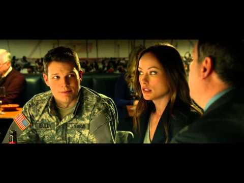 LTC Mike Pusateri with Olivia Wilde & Jake Lacy