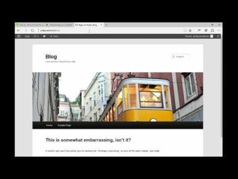 Kostenlose Websitte erstellen [10 min.]