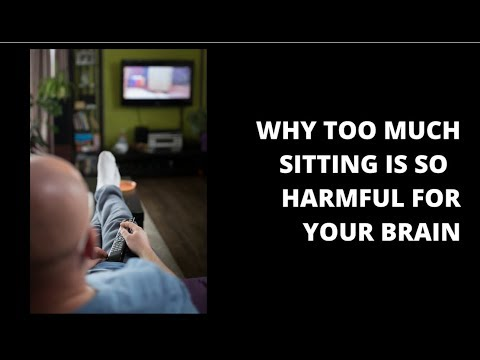 Sitting less can help save your brain