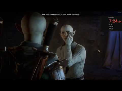 Speedrun to punch Solas' shit-talking mouth in under 8 minutes (Dragon Age: Inquisition) |