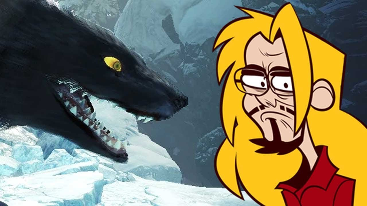 This THING Killed Me?! -  Max Vs. ICEBORNE Day 4: Monster Hunter World thumbnail