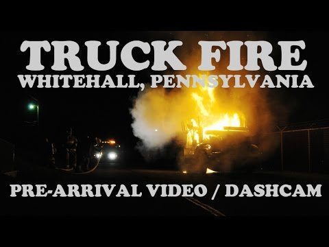 Truck Fire in Whitehall, PA | 05/18/16