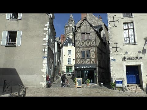 Walk around Blois France