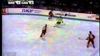 CC 1981 Canada VS Sweden