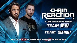 Chain Reaction 2018 Match Card LIVE On PPV Feb 18