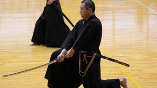 新陰流 VS 英信流 VS 神伝流 (居合道大会) Iaido
