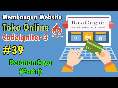 39-toko-online-codeigniter---pesanan-saya-part-1