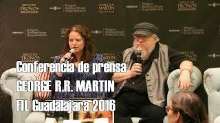Conferencia de prensa George R.R. Martin (2016)