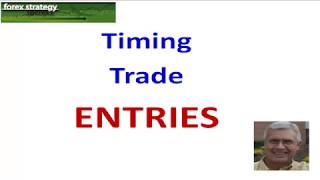 Forex Strategies and Secrets: Timing Trade Entries #1