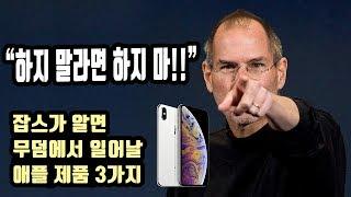 스티브잡스가 싫어했을 애플 제품 3가지! 일단 아이폰 XS 맥스 너부터!
