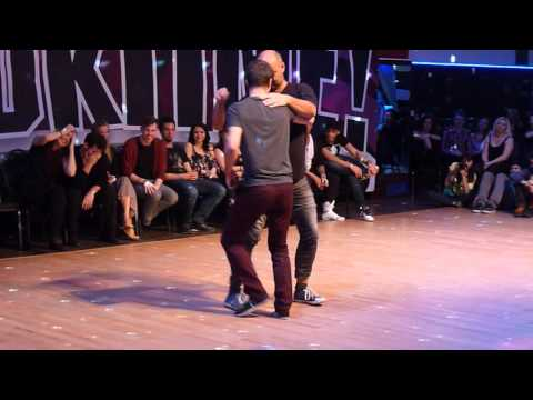 Ludovic Pelegrin Pardou and Ludek Luzny  funny crossover Jack&Jill  at WestZoukTIME! 2016
