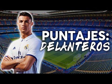 Puntuaciones Real Madrid 2016-2017  DELANTEROS   REAL NEWS