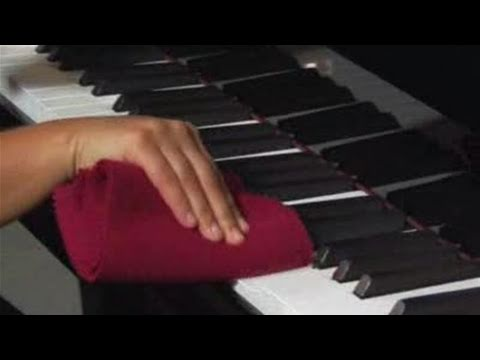 How To Wipe The Ivory Keys Of Your Piano