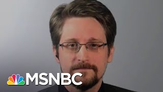 Snowden Reacts To Trump's Remarks About A Potential Pardon | The 11th Hour | MSNBC