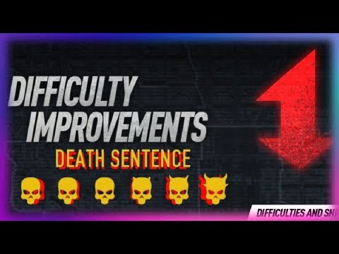 PAYDAY 2 - New difficulty (Death Sentence - GamePlay)
