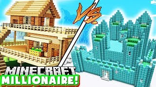 BUILDING OUR FIRST MONEY FACTORY - MINECRAFT MILLIONAIRE MOD PACK #3