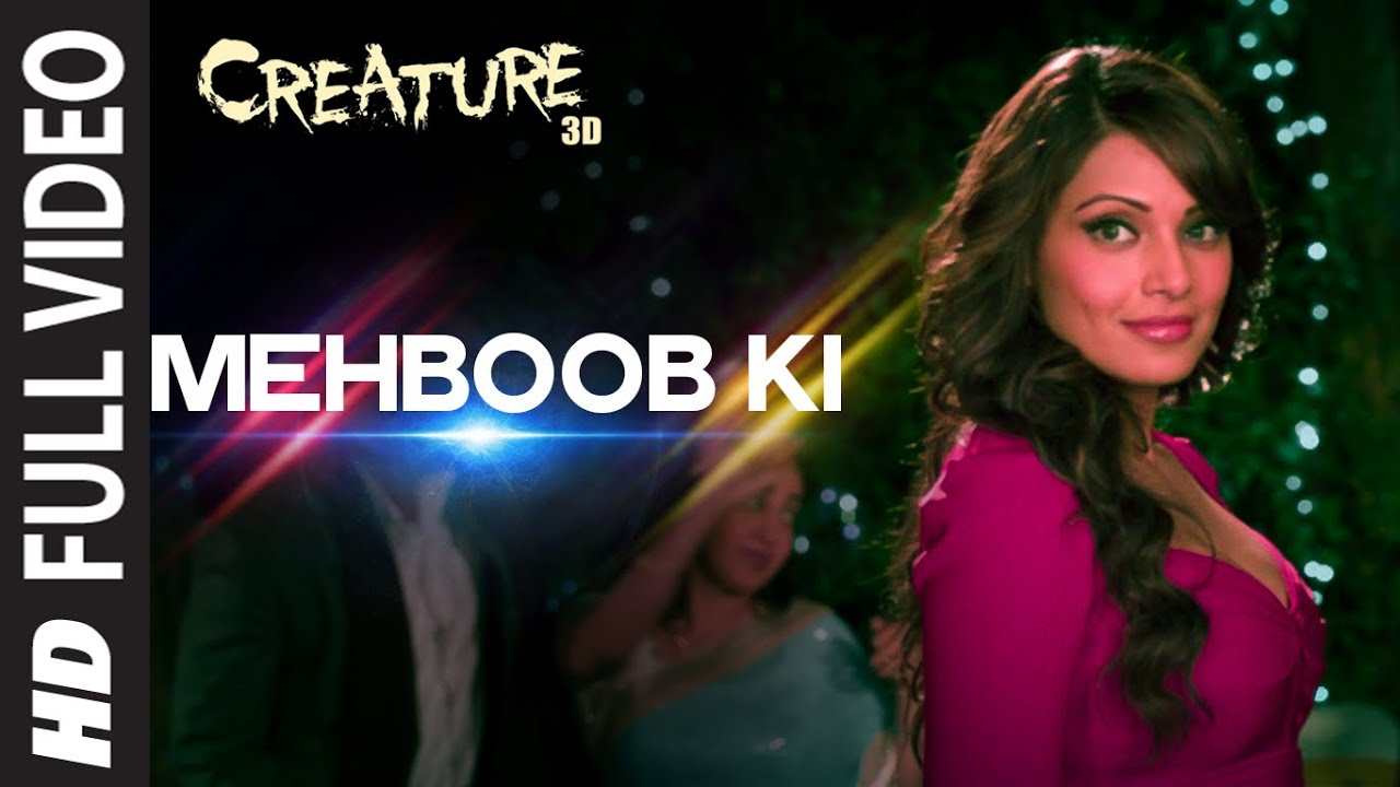Official 39 mehboob ki 39 full video song creature 3d for Createur 3d
