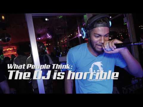 Silent Disco - What People Think vs. Reality